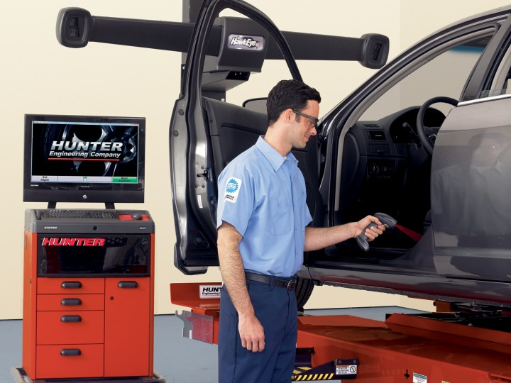 alignment equipment Barscanner