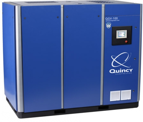 Large Quincy compressor