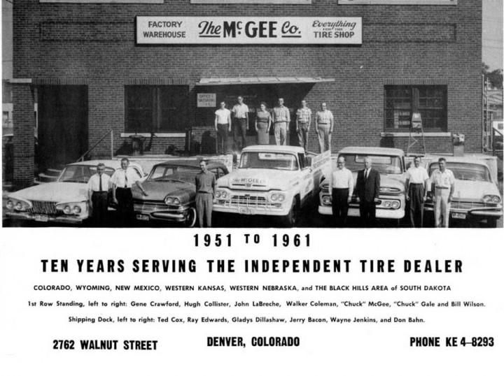 McGee Company 1961