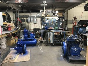 Technician in Compressor department